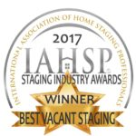 2017 Best Vacant Staging Award!